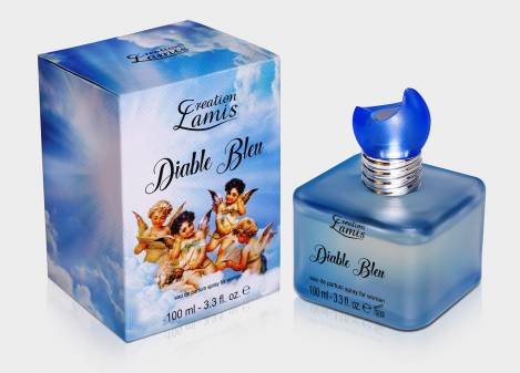 Diable Bleu for Woman Perfume EdP 100 ml Creation Lamis